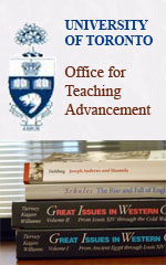 Top Ten Tips for New U of T Faculty, University of Toronto Office of Teaching Advancement